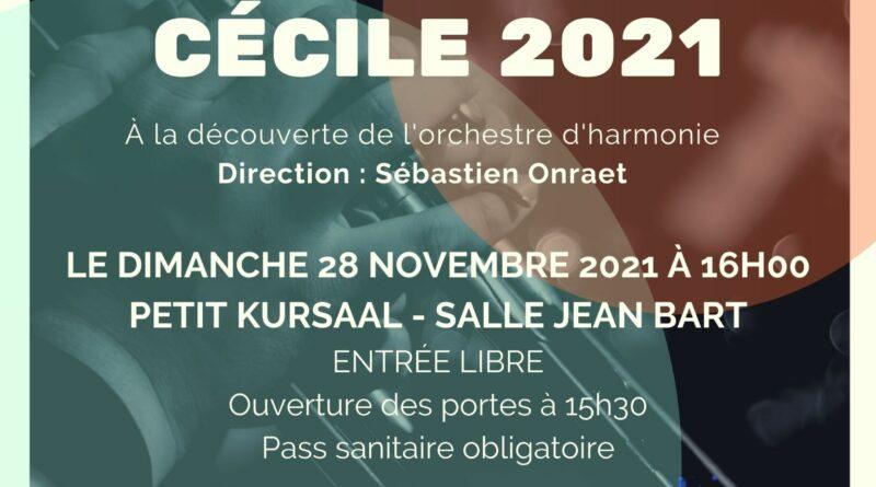 Concert de Sainte Cécile 2021